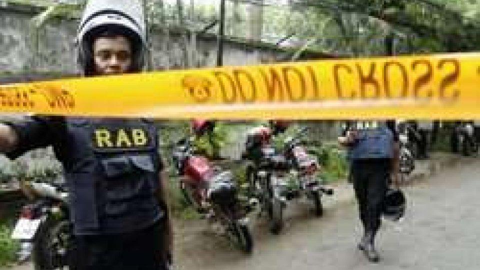 La polizia del Bangladesh