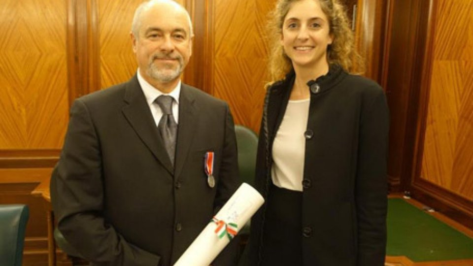 la premiazioneRoma: la protezione civile premiata dall'Associazione Nazionale Vigili del Fuoco Volontari