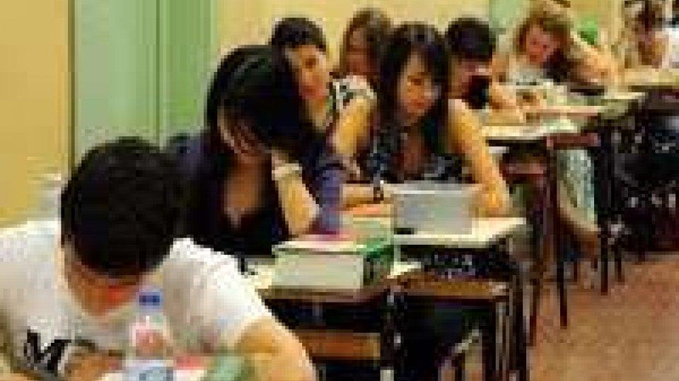Maturità: gli studenti del Titano alle prese con la terza prova