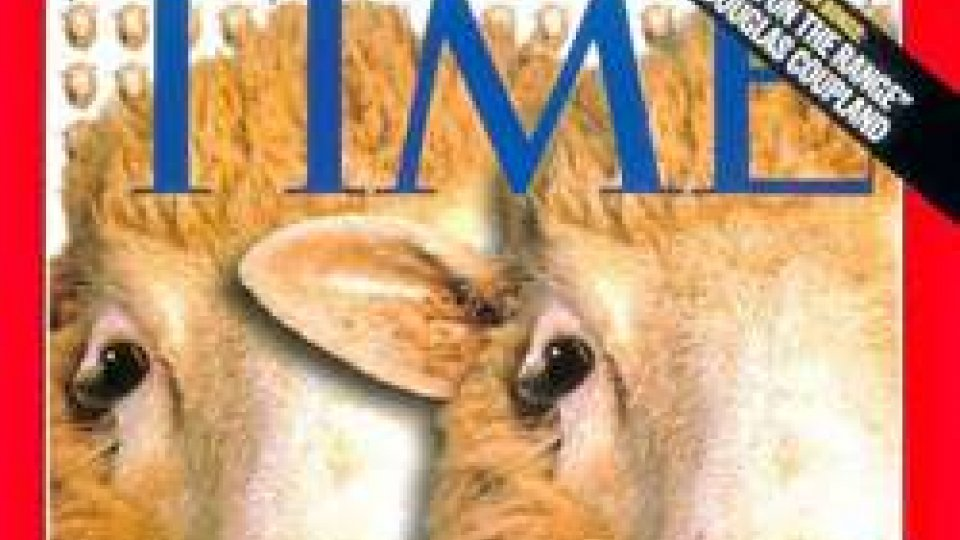La pecora Dolly sulla copertina di Time