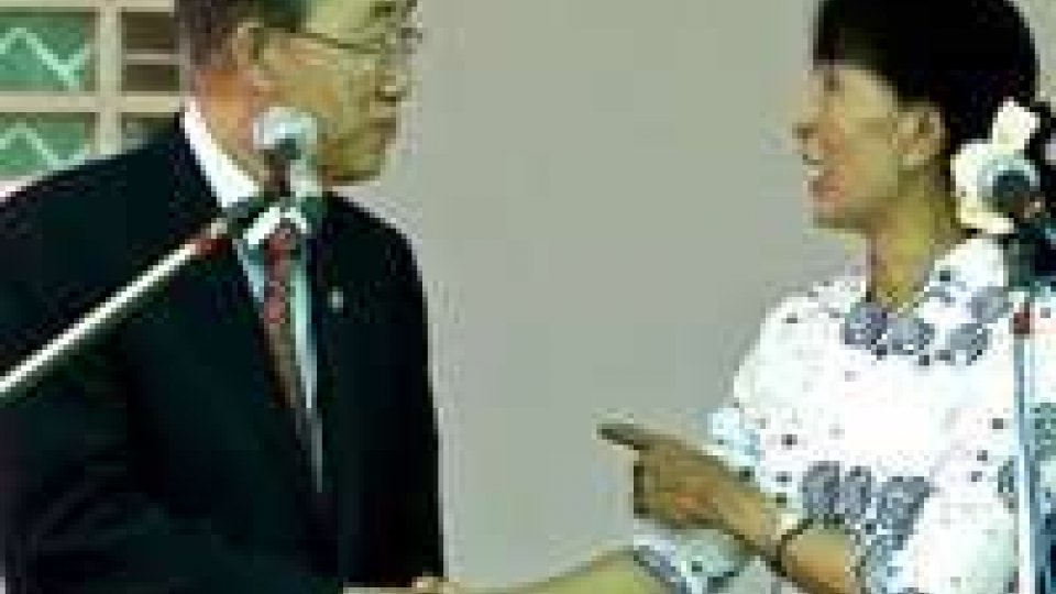 Ban Kii-moon ha incontrato Aung San Suu Kyi