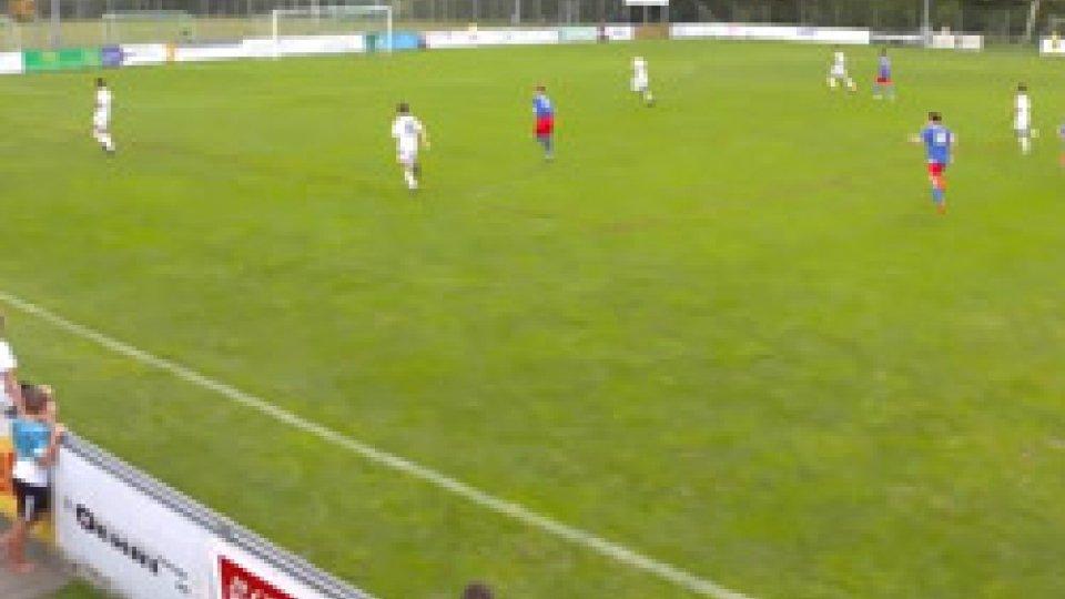 Under 17Tommasini gol, e l'Under 17 pareggia 1-1 in Liechtenstein