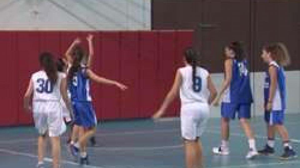 Basket: lo storico esordio di un team femminile sammarinese