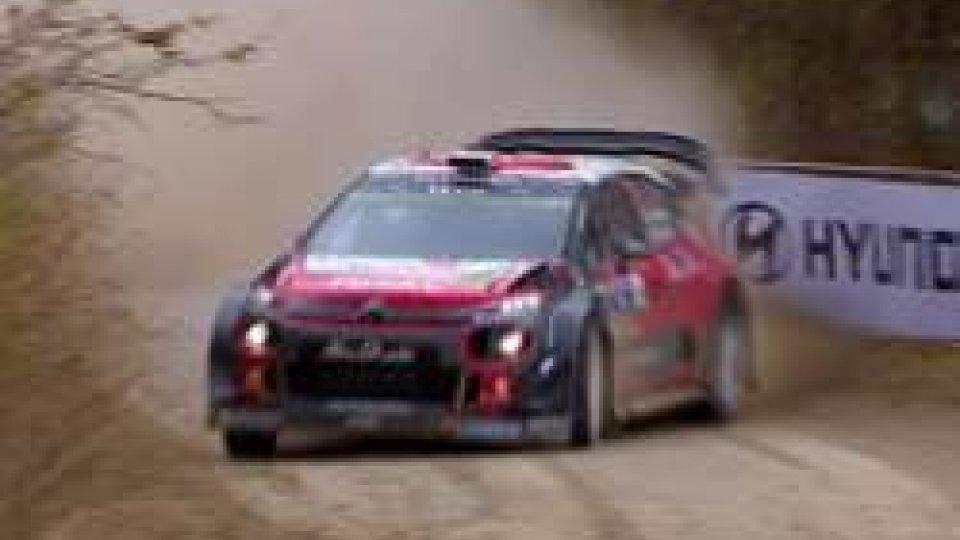 WRC, Meeke vince dopo aver rischiato di buttare tutto all'aria