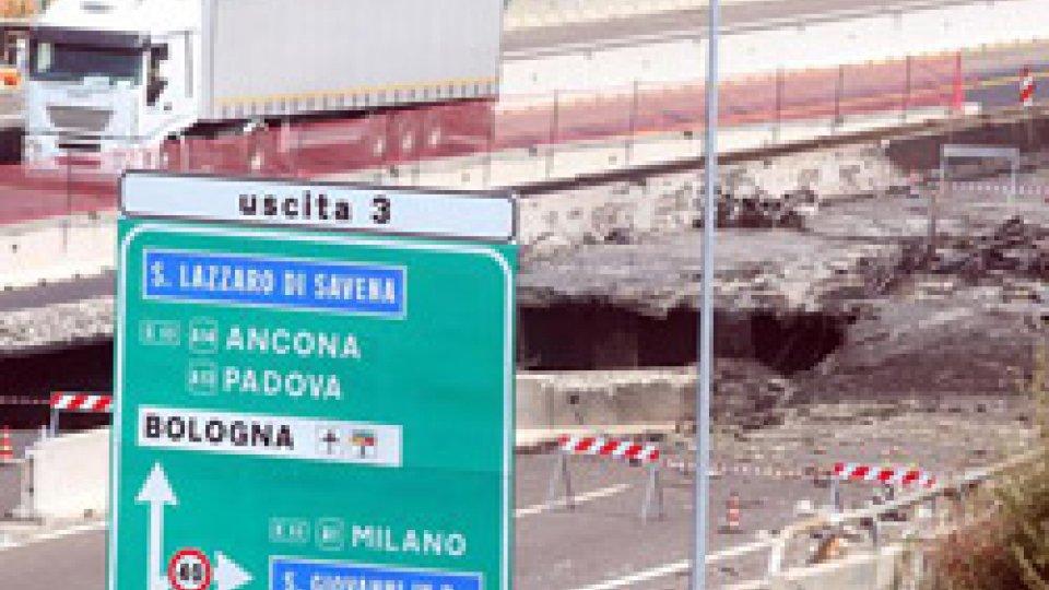 Bologna: riapre il tratto di tangenziale sul raccordo di Casalecchio