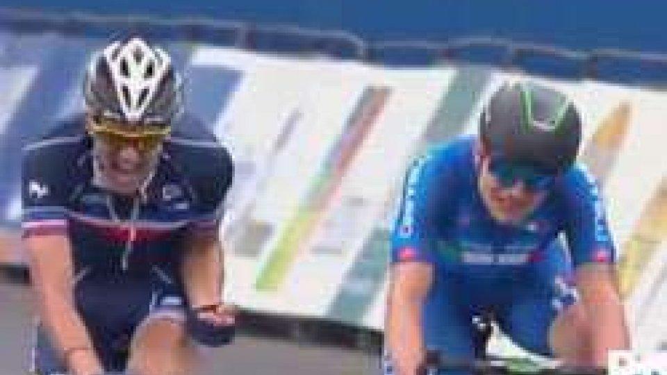Ciclismo, mondiali: Consonni è d'argento nell'Under 23. La vittoria va a LedanoisCiclismo, mondiali: Consonni è d'argento nell'Under 23