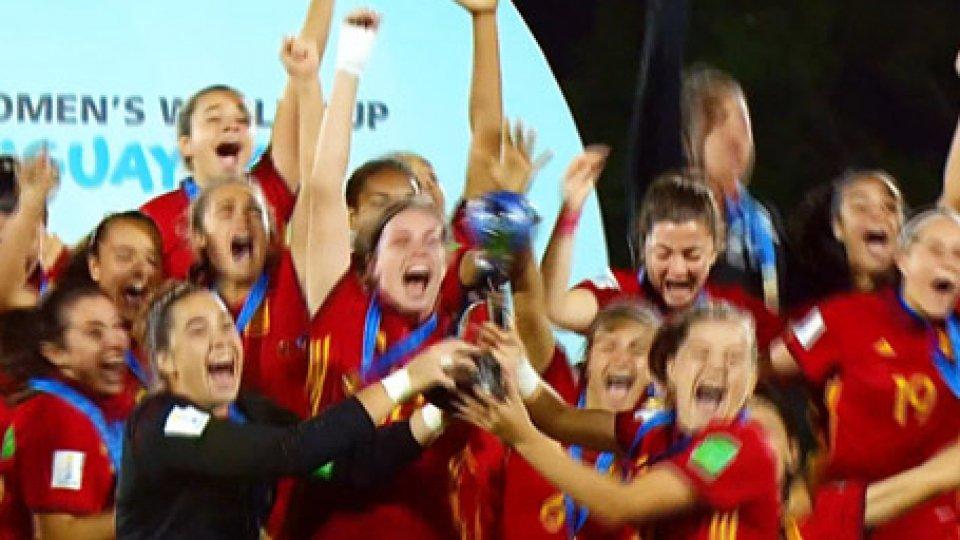 Vittoria della SpagnaMondiali U17 femminile: Spagna campione, battuto il Messico 2-1