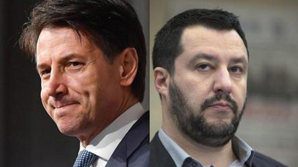 Giuseppe Conte e Matteo Salvini