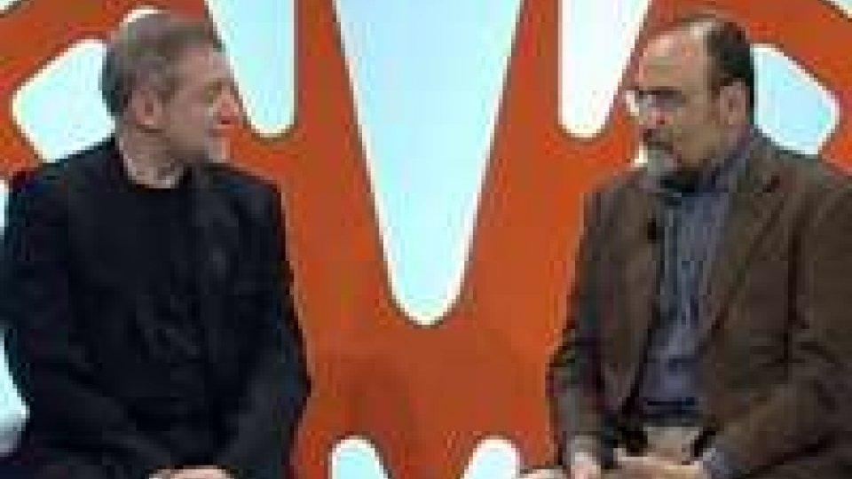 Il regista del Festival di Sanremo, Duccio Forzano, intervistato dal direttore RomeoIl regista del Festival di Sanremo, Duccio Forzano, intervistato dal direttore Romeo