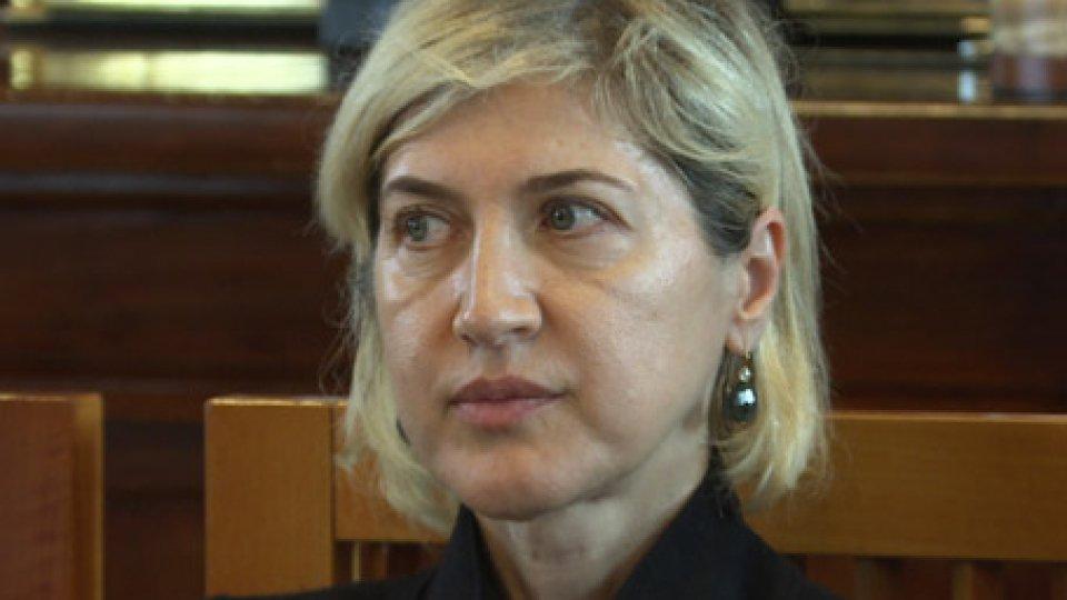 """Catia Tomasetti, Presidente BcsmDibattito sugli Npl, Tomasetti: """"Bcsm non ritiene opportuno esprimersi per il rischio di essere fraintesa"""""""