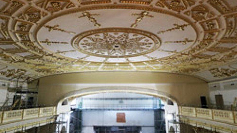 Il soffitto del Galli