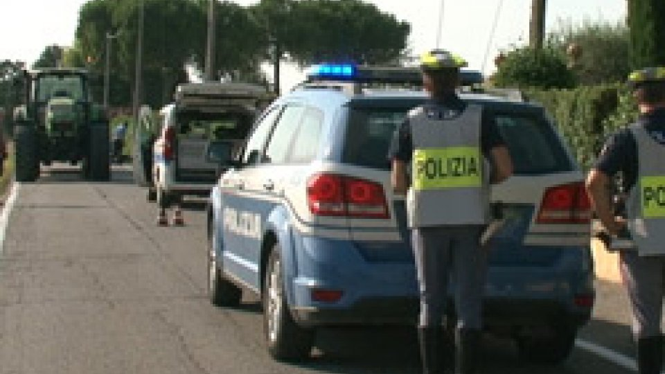 Il luogo dello schiantoSantarcangelo: in scooter contro un palo, muore un ragazzo di 18 anni