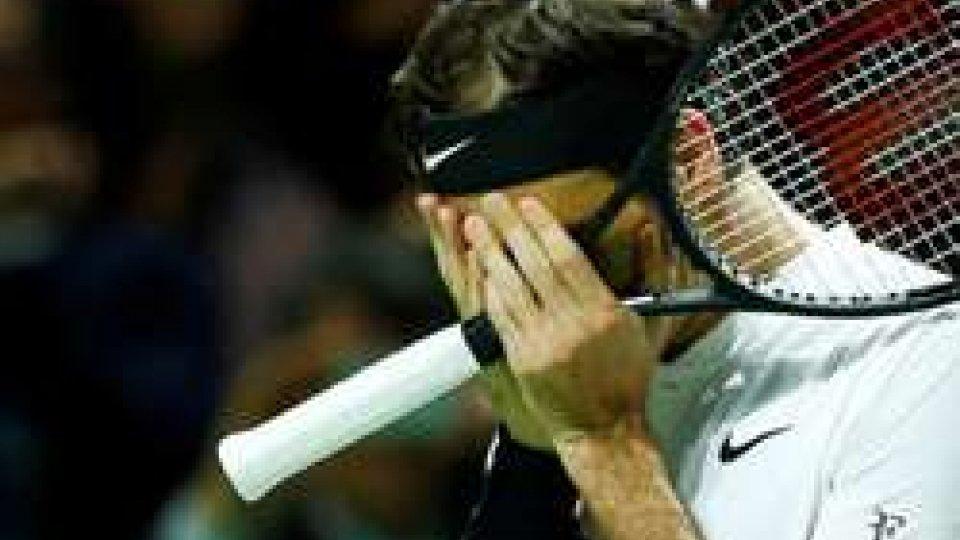 Federer commosso