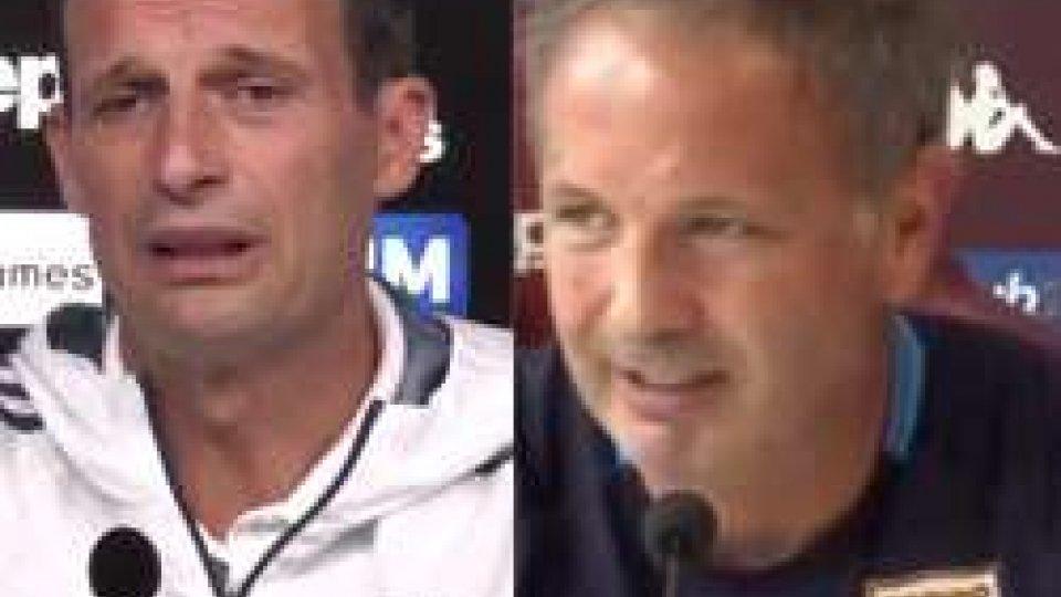 Serie A: l'anticipo è Juve - Toro, le interviste agli allenatori