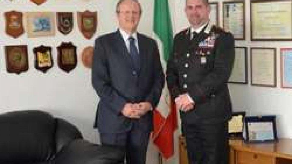 Guido Cerboni e il Comandante Giuseppe Sportelli