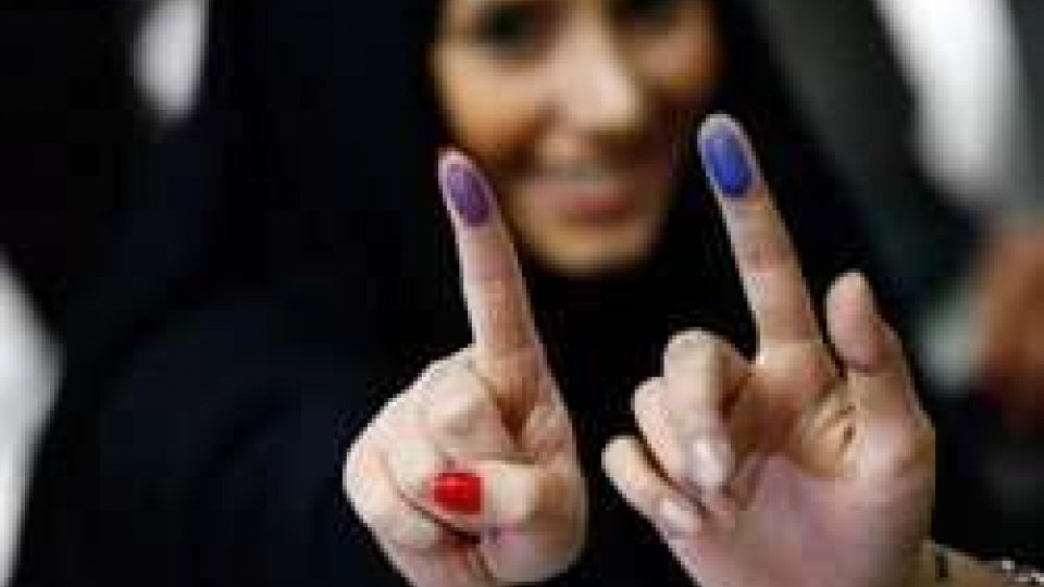 Donne al voto in Iran