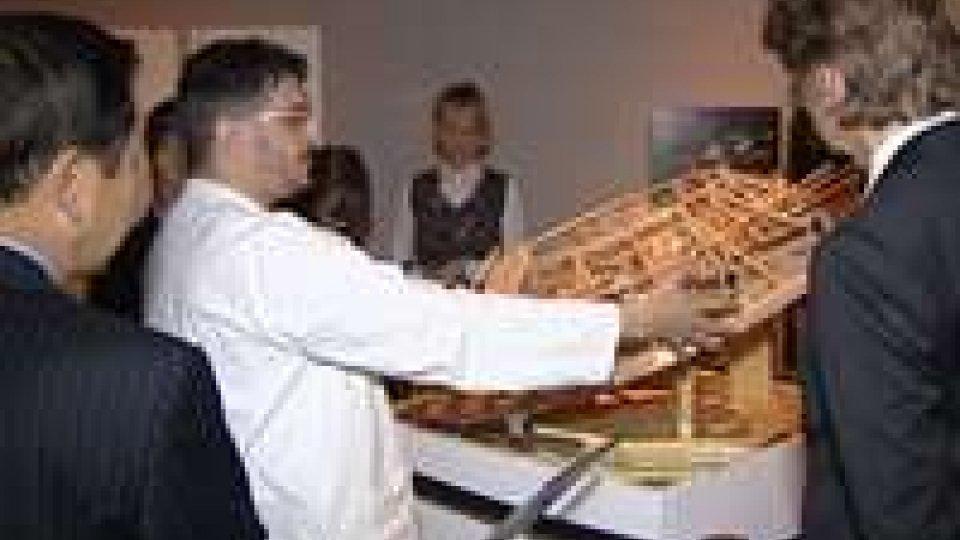 Diplomatici in visita alla mostra su Leonardo