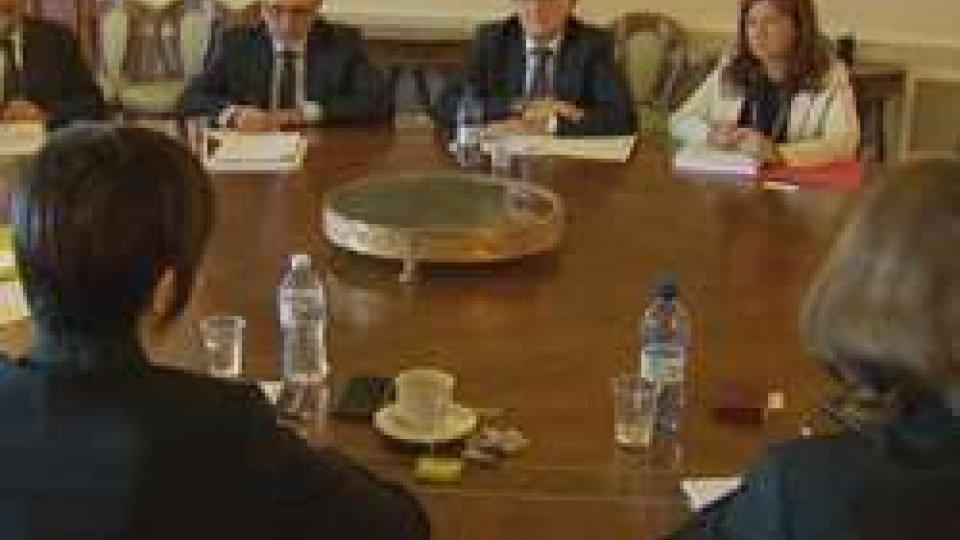 Delegazione dell'Fmi a San Marino