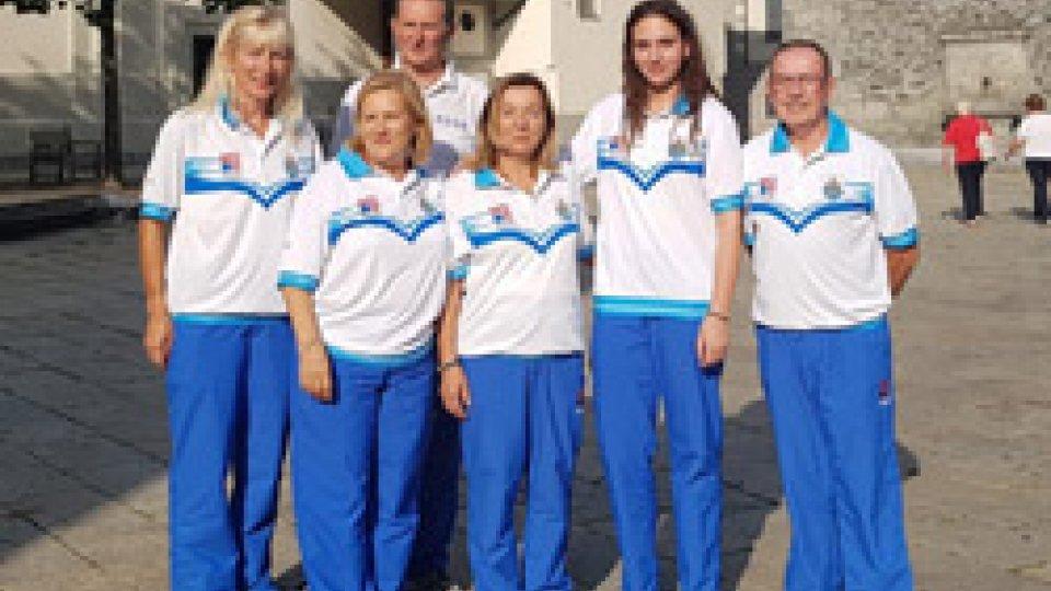 Bocce: quinto posto per San Marino agli Europei Femminili