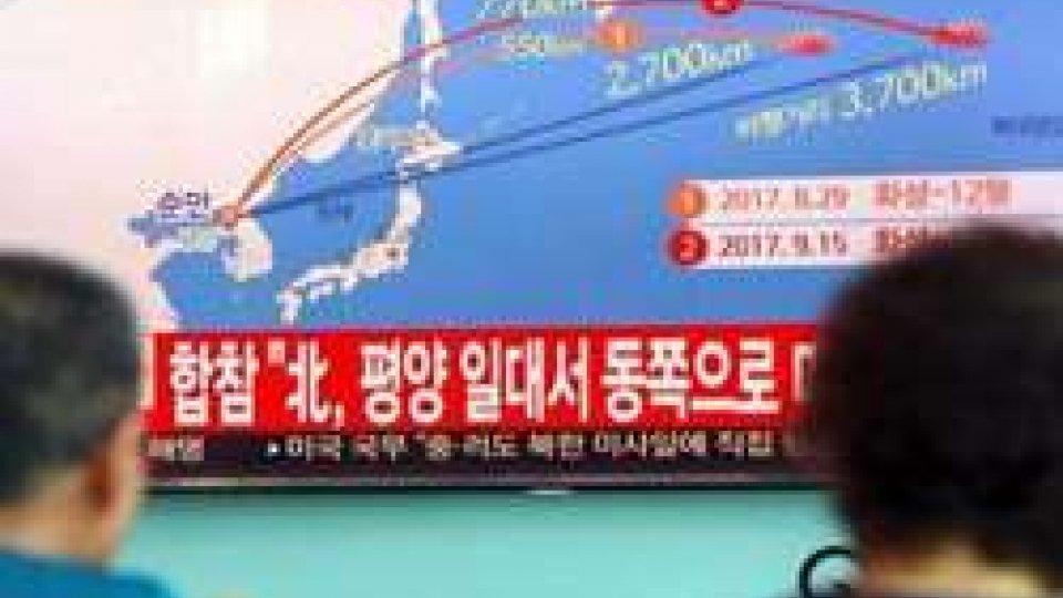 Lancio missile nord coreano