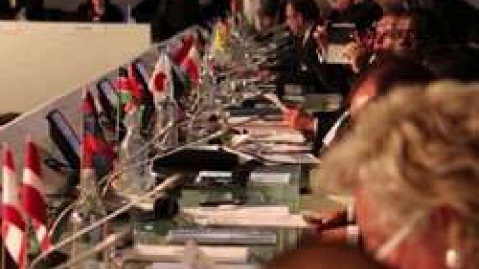 Expo: San Marino firma la Dichiarazione contro la violenza sui tesori artisticiExpo: San Marino firma la Dichiarazione contro la violenza sui tesori artistici