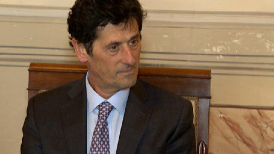 Il Segretario di Stato agli Affari Interni  Guerrino Zanotti