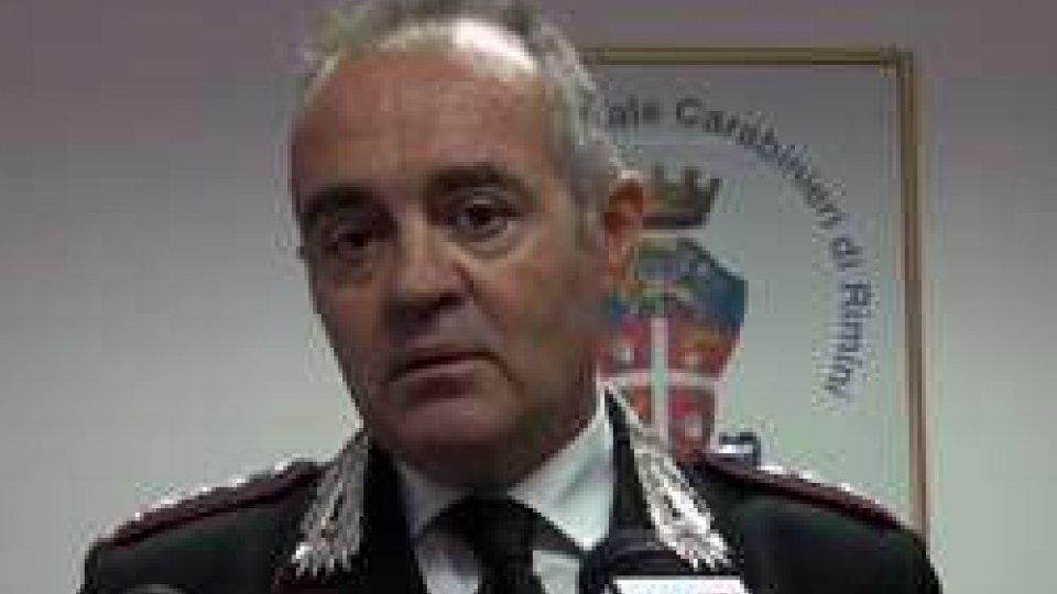 Colonnello Mario ConioCarabinieri di Rimini: arriva il Tenente Colonnello Giuseppe Sportelli