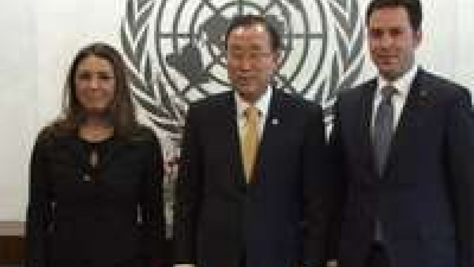 La Reggenza all'Onu ha incontrato Ban Ki-moon