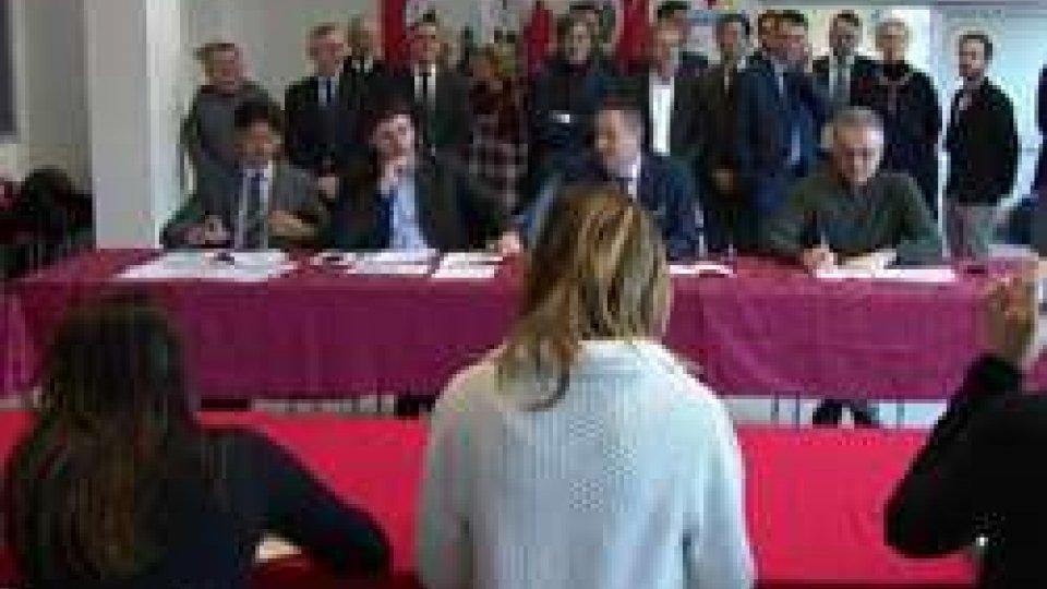 Conferenza stampa SmpdtSMPT: verso il ballottaggio, conferenza stampa finale
