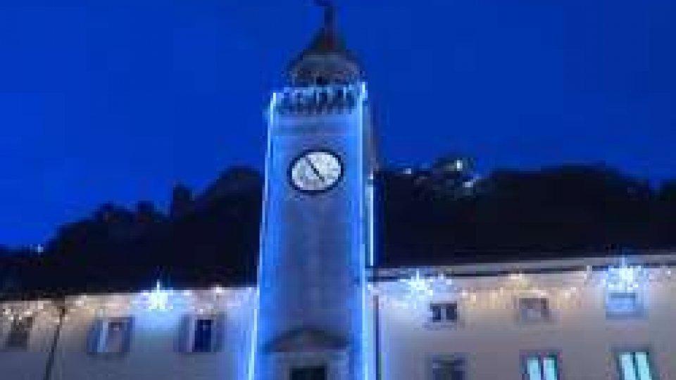 Accese le luminarie a Borgo Maggiore
