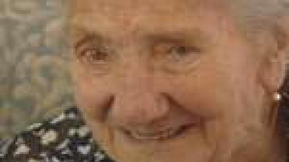 Alceste Preda FerriAlceste Preda Ferri, la storica maestra di Montegiardino compie 104 anni