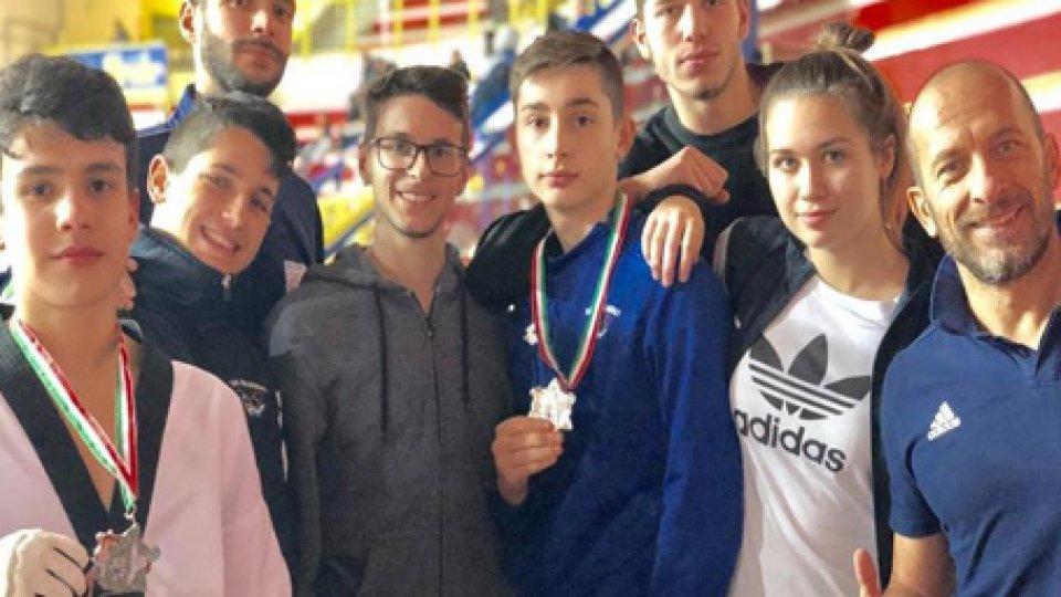 Taekwondo: podio biancazzurro all'Insubria Cup 2019