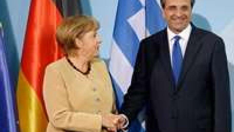 Incontro Merkel - Samaras