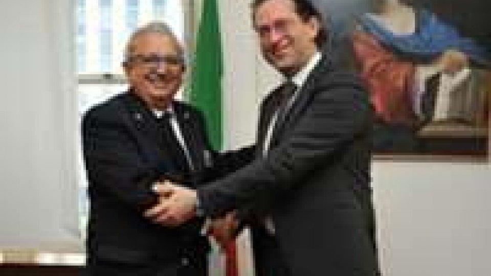 San Marino: il Segretario Arzilli incontra i vertici della Capitaneria di Porto