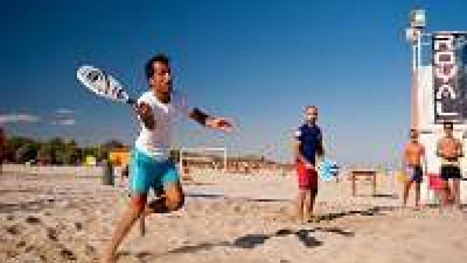 World Beach Tennis: San Marino ai quarti