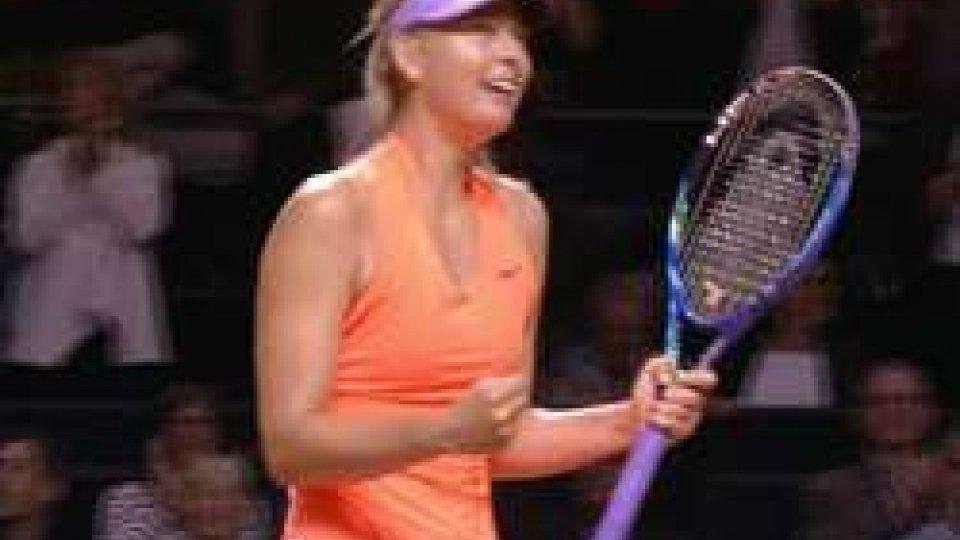 Maria SharapovaRitorno vincente per Sharapova: battuta la Vinci