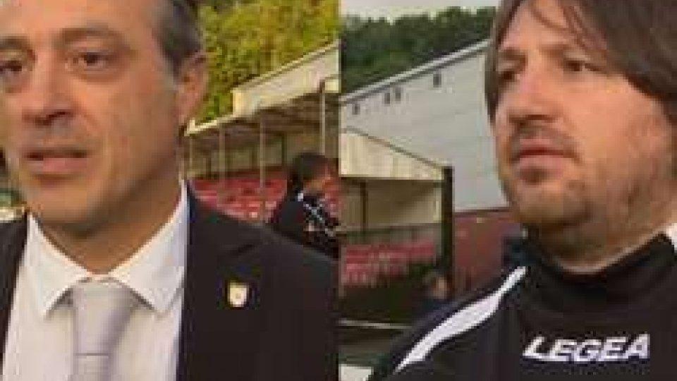 Marco Protti e Craig HarrisonProtti: i miei giocatori encomiabili. Harrison: sapevamo che sarebbe stata una partita difficile
