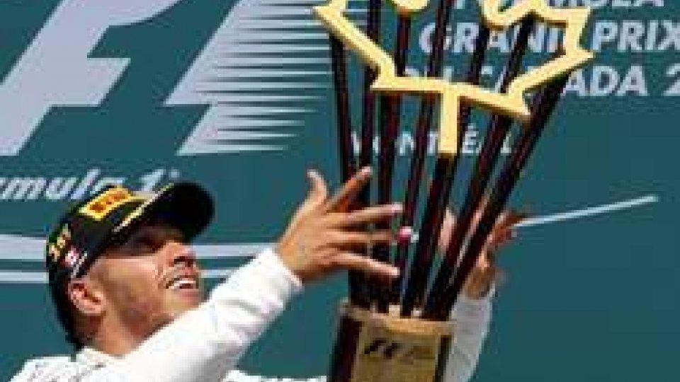 Formula 1, Gp Canada: doppietta Mercedes con Hamilton e Bottas