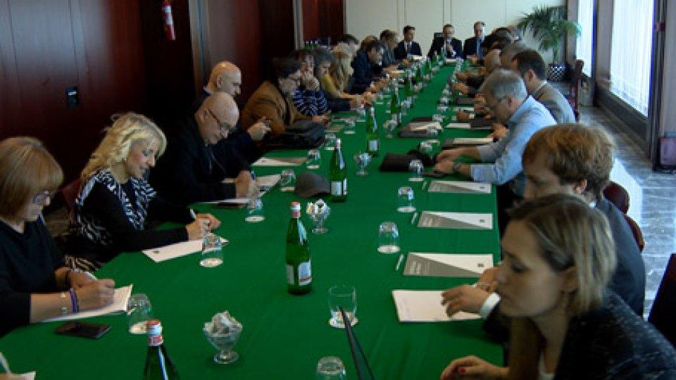 Comitato strategicoPrima riunione per il Comitato strategico: politica, banche e parti sociali sullo stesso tavolo