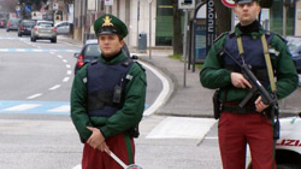 Guardia di Rocca al confineFurto a Dogana, la Guardia di Rocca arresta un 35enne armeno