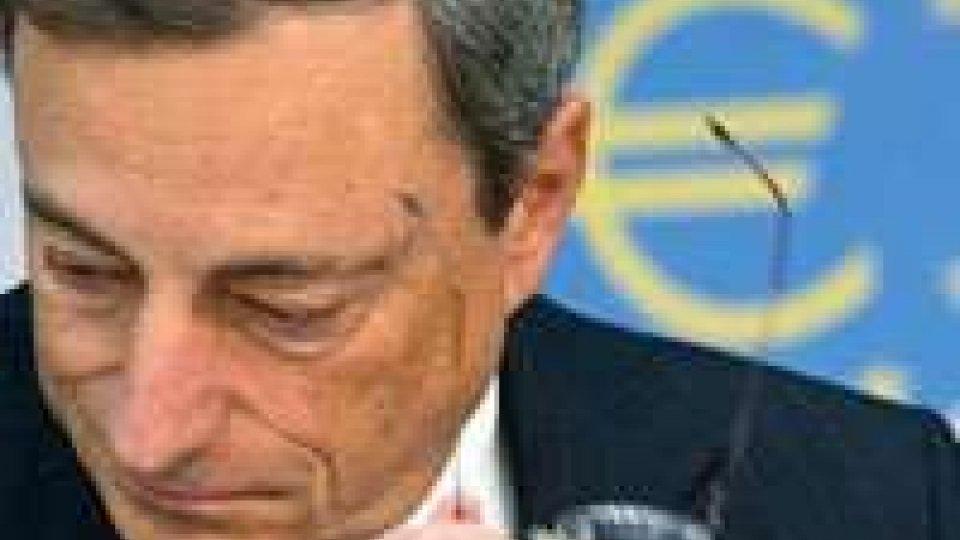 """Draghi, """"finanza dell'Eurozona migliorata, continuare sforzi"""""""