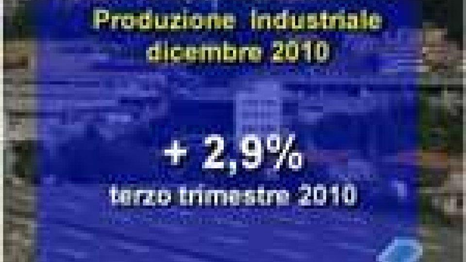 Produzione industriale dicembre 2010. Tengono le aziende storiche