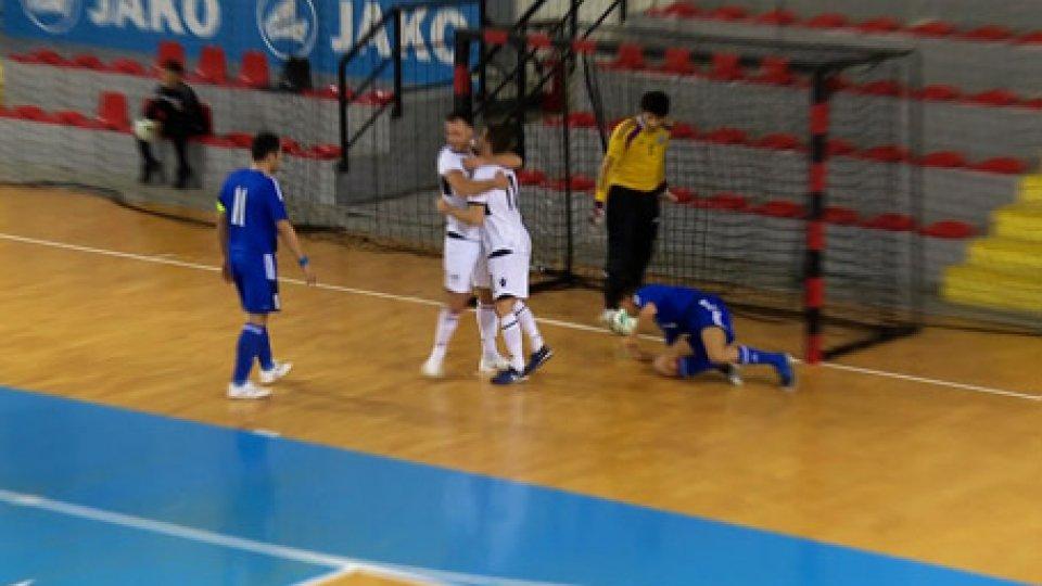 Gli allenamenti del San MarinoFutsal, qualificazioni mondiali: per San Marino c'è la Macedonia