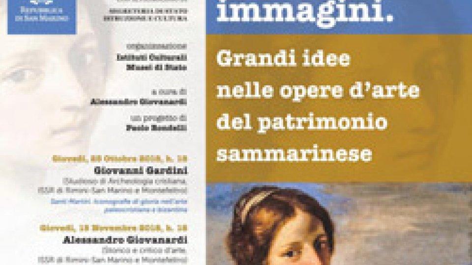 """""""Pensare per immagini""""  la conferenza che si terrà giovedì 13 dicembre alle ore 18.00 al Museo di Stato - Palazzo Pergami Belluzzi"""