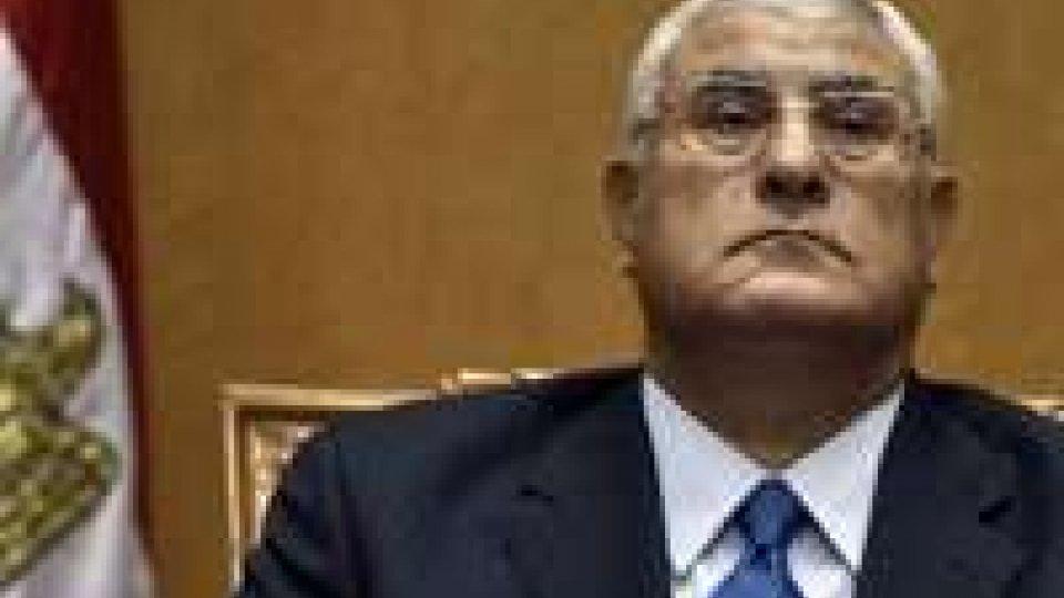 Egitto: l'opposizione dice no al decreto di Mansour