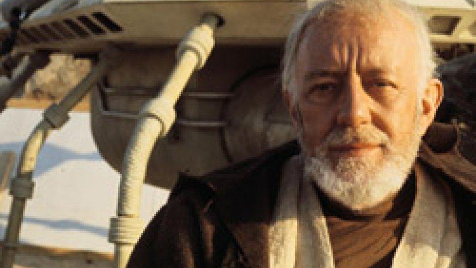 "Alec Guinnes sul set di ""Star Wars"""