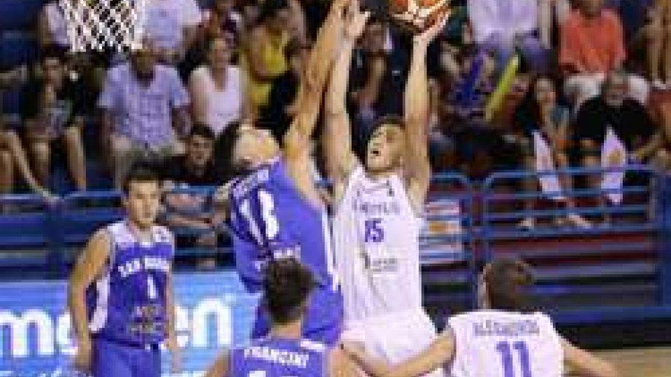 Basket Europei U16: grande vittoria per San Marino