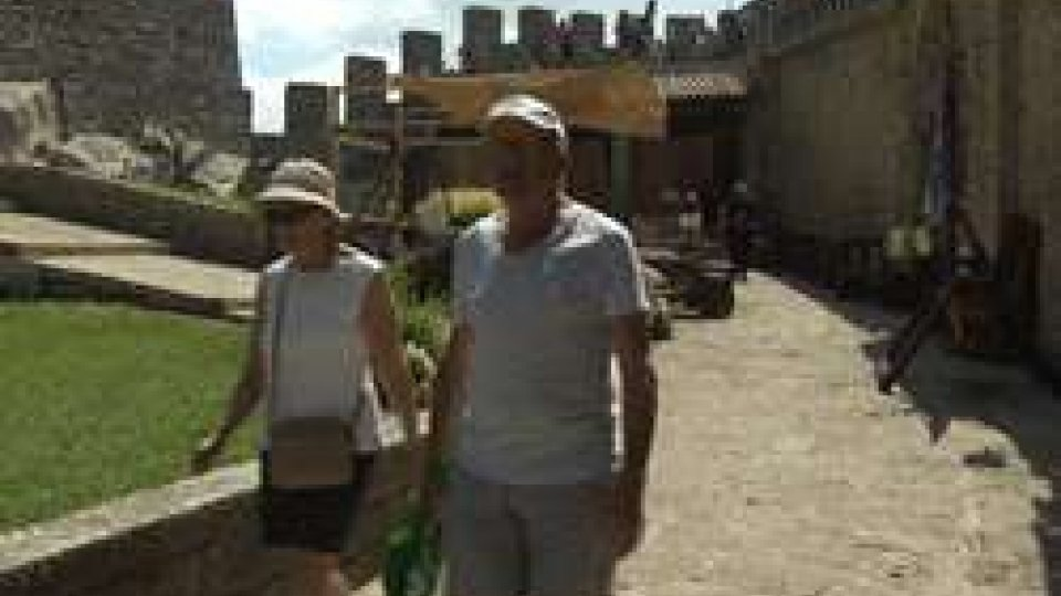 I turisti nella Prima Torre