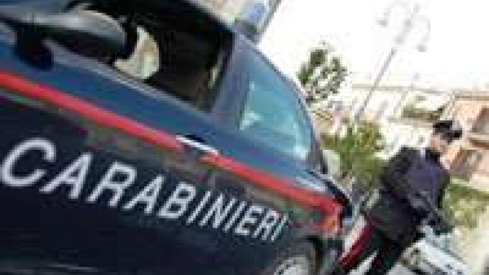Riccione, servizio di controllo dei carabinieri