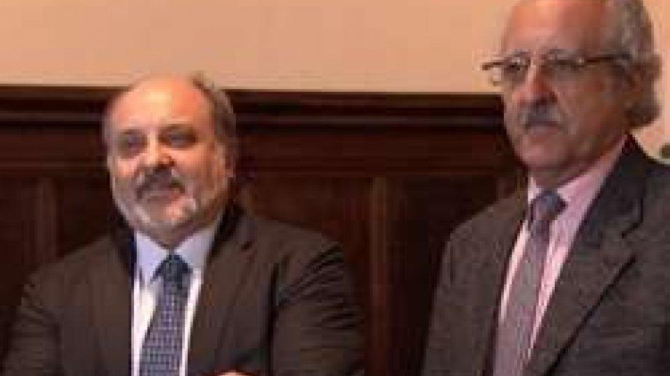Wafik Grais e Lorenzo SavorelliCommissione Finanze: il giorno dei vertici Bcsm